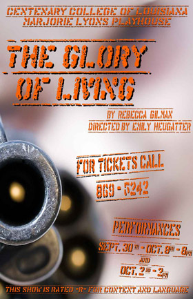 Glory of Living Poster