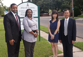 Lingnan Reps and Office of Global Engagement Staff